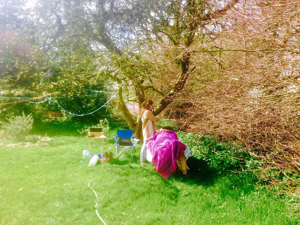 Orla healing outdoors