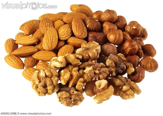walnuts hazelnuts and almonds 440282