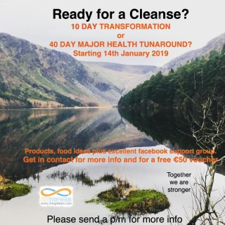 Support Programme for Cleansing Jan 2019!